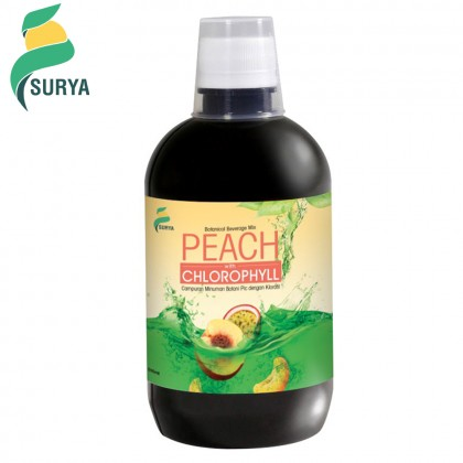 Surya Peach with Chlorophyll 500ml (EXP: Sept 2020)