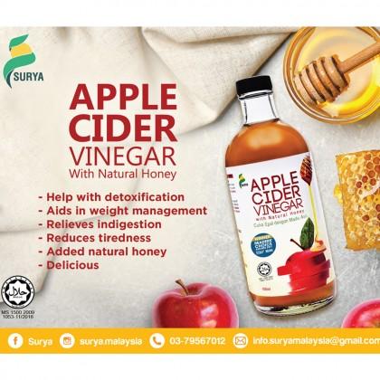 [Raya Promo] Surya Apple Cider Vinegar (2 x 450ml, Exp: Oct'20) + Free Gift worth RM10