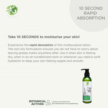 [Raya Promo] Koolit Soothing Lotion 200ml+ Koolit Gentle Body Wash 300ml + Free Gift worth RM10