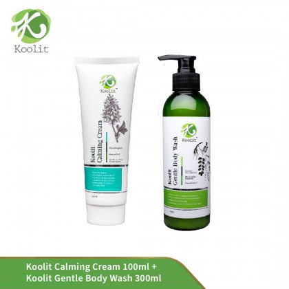 Koolit Calming Cream 100ml+ Koolit Gentle Body Wash 300ml