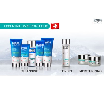 Swiss Image Essential Care: Soothing Face Wash Gel-Cream + Absolute Repair Night Cream
