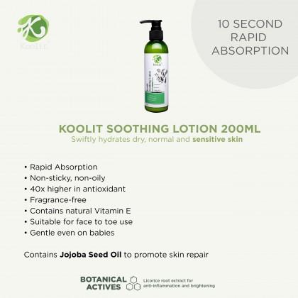 2 x  Koolit Gentle Body Wash 300ml + 1 x Soothing Lotion 200ml