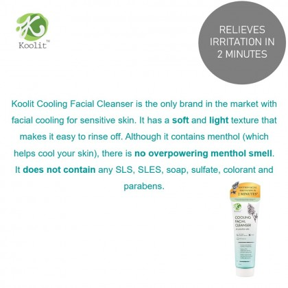 Koolit Cooling Facial Cleanser